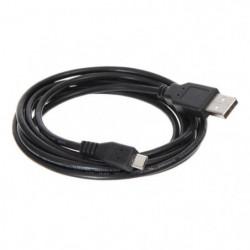 CONTINENTAL EDISON Câble Micro USB B 5 contacts mâle / USB A