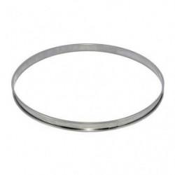 DE BUYER Cercle à tarte - Inox - Ø 28 x H 2 cm - Tous feux d