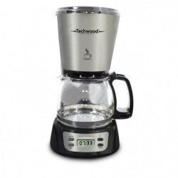 TECHWOOD TCA-840 Cafetiere filtre programmable