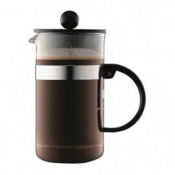 BODUM BISTRO Cafetiere piston 3 tasses/0,35L noir