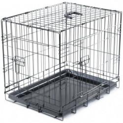 VADIGRAN Cage métallique pliable Classic - 61 x 46 x 51 cm -