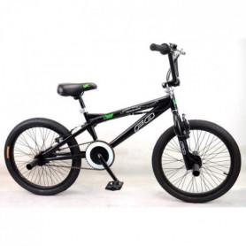 """MERCIER Vélo BMX Freestyle 20"""" 4 Pegs - Noir"""