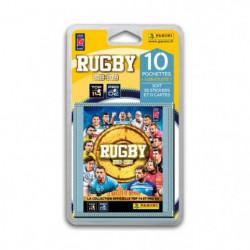 RUGBY 2018 2019 Stickers - Blister de 10 pochettes + 1 poche