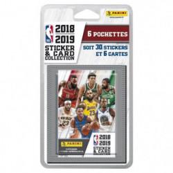 NBA 2018 2019 Stickers - Blister de 6 pochettes