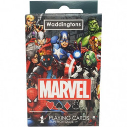 WADDINGTONS Jeu de 54 cartes Marvel