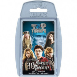 TOP TRUMPS - Harry Potter - Jeu de cartes - Version français
