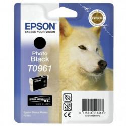 Epson T0961 Loup Cartouche d'encre Noir