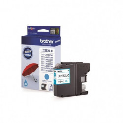 Brother LC225XLC Cartouche d'encre Cyan