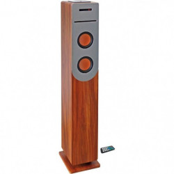 INOVALLEY HP34-CD-WOOD Tour de son Lecteur CD - Bluetooth -