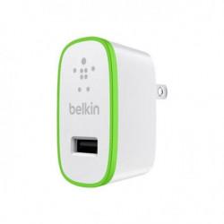 BELKIN  Micro chargeur secteur USB 2.1A, 5V - Blanc