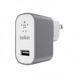 BELKIN Mini chargeur secteur 2,4A, 5V, 12W - Gris métal
