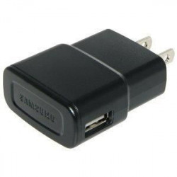 BBC Mini Chargeur secteur 1A + Câble IP - Noir