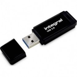INTEGRAL - Clé USB - 16 Go - USB 3.0 - Noir