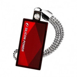 SILICON POWER Clé USB 2.0 Touch 810 - 64 GB - Rouge