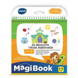 VTECH - Livre Interactif Magibook - Je Découvre L'École Mate