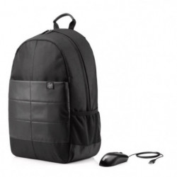 """HP Sac a dos PC Portable Classic Backpack 1FK05AA - 15,6"""" -"""