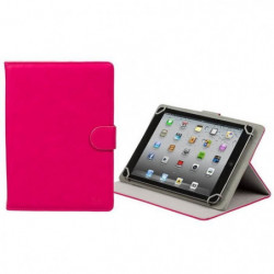 RIVACASE Etui tablette universel Orly 10,1'' - Cuir - Rose