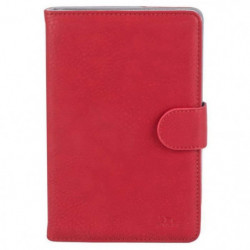 RIVACASE Etui tablette universel Orly 10,1'' - Cuir - Rouge