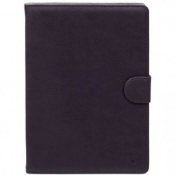 RIVACASE Etui tablette universel Orly 10,1'' - Cuir - Violet