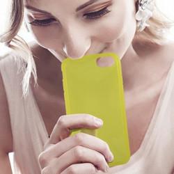 KSIX Coque de protection Sense Aroma - Parfum Citron pour Ip