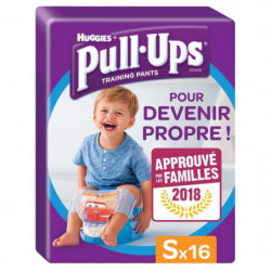 HUGGIES Pull ups Culottes d'apprentissage - Taille 4 - x16 -