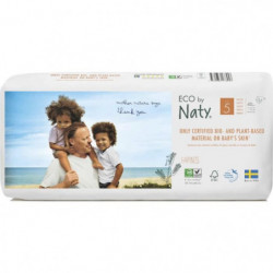 NATY Couches culottes écologiques T5x40 couches