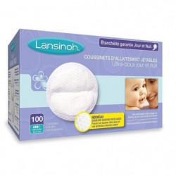 LANSINOH Coussinets d'allaitement jetables 100 Pc