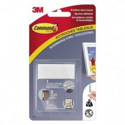 3M COMMAND Languettes de fixation - Moyen modele - Blanc