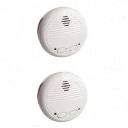 CHACON 2 Détecteurs de fumée optiques interconnectables sans