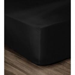 LOVELY HOME Drap Housse 100% Coton 90x190cm - Bonnet 35cm -