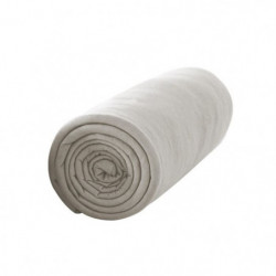 TODAY Drap housse 100% coton - 160 x 200 cm - Mastic