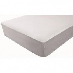 DOUX NID Drap-housse en jersey - Perle - 70x140 cm