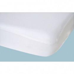 DOUX NID Drap-housse imperméable - Blanc - 40x80 cm