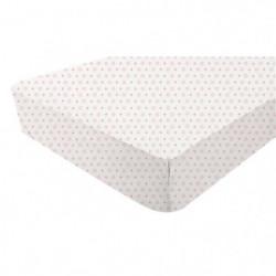 DOMIVA Drap Housse Jersey Blanc 60 x 120 cm