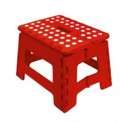 FRANDIS Marche-pied pliable 29x22x22cm rouge
