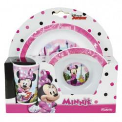 Fun House Disney Minnie ensemble repas comprenant 1 assiette