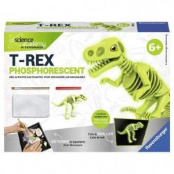 SCIENCE X RAVENSBURGER Mini T-Rex Phosphorescent Jeu Educati