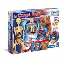 CLEMENTONI Science & Jeu - Le Corps Humain - Jeu scientifiqu