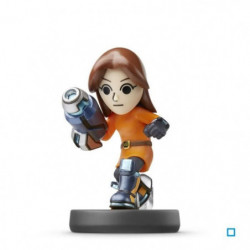 Figurine Amiibo Tireuse Mii Collection Super Smash Bros N°50