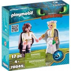 PLAYMOBIL 70045 - Dragons - Astrid et Harold