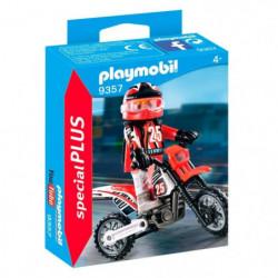 PLAYMOBIL 9357 - Action - Pilote de motocross - Nouveauté 20