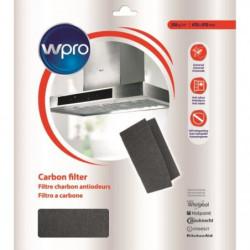 WPRO UCF016 Filtre universel a graisse et a charbon 2 en 1.
