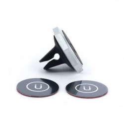XQISIT Support voiture  UNIVERSEL AirVent magnetic  - Noir