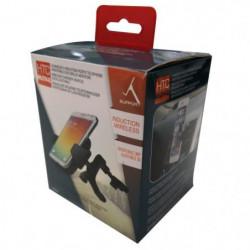M500 Support smartphone orientable 360° et chargeur sans fil