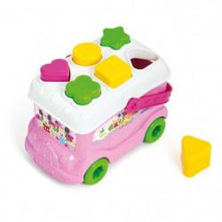 CLEMENTONI Disney Baby  - Le bus des formes de Minnie - Jeu