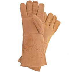 STANLEY 460404 Gants de protection de soudure en cuir de che