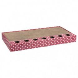 TRIXIE Plaque griffoir - 48 x 25 cm - Rose - Pour chat