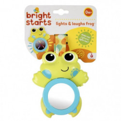 BRIGHT STARTS Hochet lumineux Grenouille Lights & Laughs