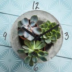 ARTIS Horloge en verre Moment'Art 30 cm Flower