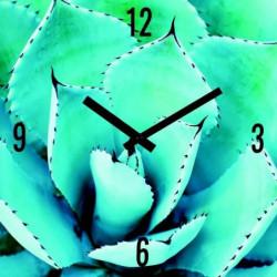 ARTIS Horloge en verre Moment'Art 30 x 30 cm Cactus